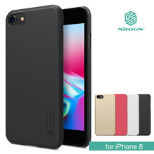 "Buy iPhone 8 Nillkin Super Frosted Shield Hard Back PC Cover Case iPhone 8 4.7"" Nilkin Phone Case +Screen Protector for $7.19 in AliExpress store"