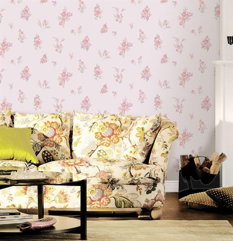 Pastoral Embossed 3d Green Living Room Background Wallpaper Papel De Parede 3d Paisagem Free Flower Wall Papers Home Decor<br>