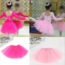 Tulle Knit Sewing Mesh Fabric DIY Net Yarn 2-8 Years Baby Girls Dance Girls Sport Tutu Skirt Organza Birthday Party Decoration(China)