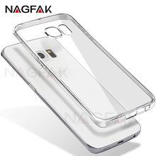 NAGFAK Ultra-Thin Soft Transparent TPU Case For Samsung Galaxy A5 2015 2016 2017 Silicone Cover For Samsung A510F A520F Case(China)