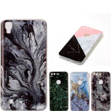 Marble soft TPU Case For hoesje LG X Power Cover K220 Phone Cases for capas LG X power K220DS Back cover cases X Power Cell case(China)