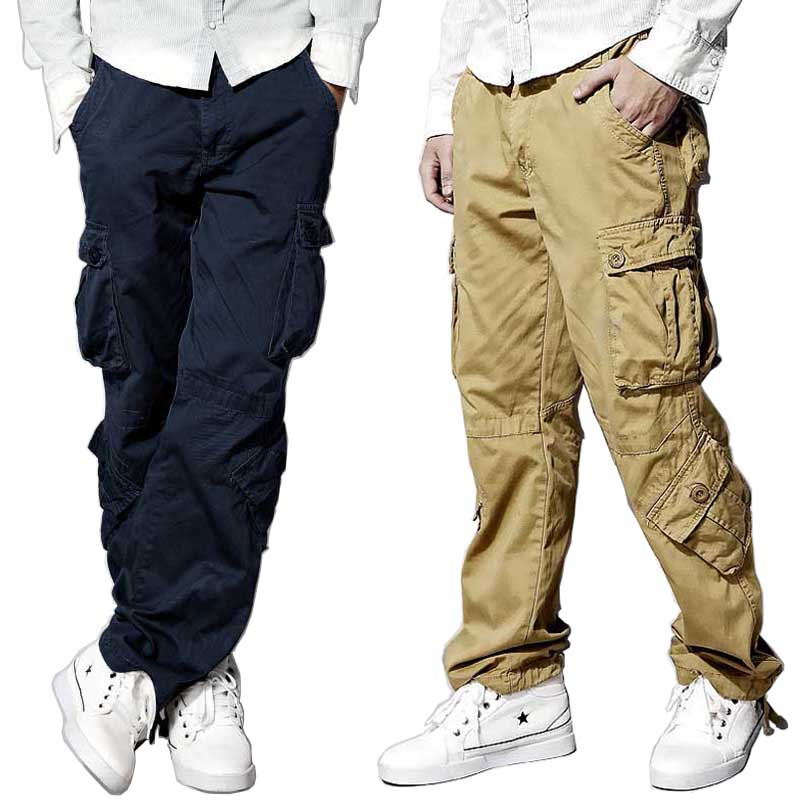 Sport Men/'s Casual Jogger Baggy Trousers Cargo Work Pants Running Long Pant