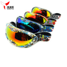 NEW EDDIE FOX HG-31 Anti-fog Windproof UV400 Kids Ski Goggles Unisex Anti Glare Goggles For Outdoor With 9 Colors