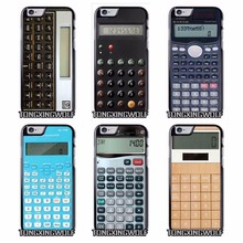 Calculator Cover Case for IPhone 4s 5s se 6s 7 Plus Samsung S5 S6 S7 S8 Edge Note 4 5 Grand Prime Neo duos