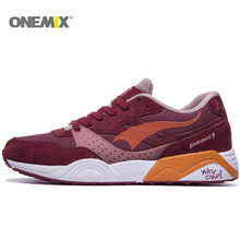 Onemix Tennis Shoes Mens&Womens Sports Shoes Breathable Sneakers 1106(China)
