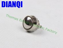 12mm metal push botton waterproof nickel plated brass domed push button switch 1NO momentary reset screw terminal 12QX,F.KL