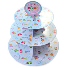 Hot 3 Tier Cupcake Cake Dessert Stand Holder Display for Birthday Party Wedding