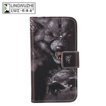 Buy LINGWUZHE Card Slot Cover Wallet Flip PU Leather Phone Bag Protector Case SFR Starnaute 4 5'' for $4.39 in AliExpress store