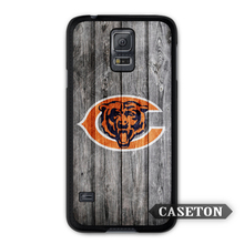 Chicago Bears Football Case For Galaxy S8 S7 S6 Edge Plus S5 S4 Active S3 mini Win Note 5 4 3 A7 A5 Core 2 Ace 4 3 Mega