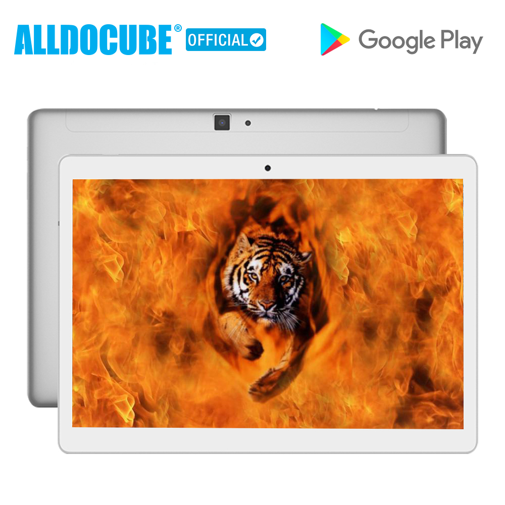 ALLDOCUBE M5 10.1 Inch 4G Phone Call Tablet PC 2560*1600 IPS Android 8.0 MTK X20 Deca core 4GB RAM 64GB ROM 5MP GPS Dual WIFI(China)