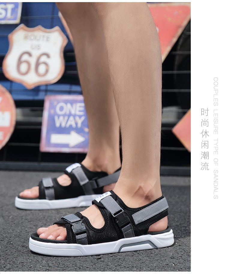 YRRFUOT Summer Big Size Fashion Men's Sandals Outdoor Hot Sale Trend Man Beach Shoes High Quality Non-slip Adult Flats Shoes 46 33 Online shopping Bangladesh