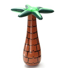 60cm Inflatable Floating Coconut Palms Tree Summer Party Events DIY Decoration Ornaments Swimming Pool Beach Lawn Toy Decor