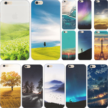 5C Varied Styles Charm Painting Mountain TPU Cover For Apple iPhone 5C Cases Case For Phone5C Phone Shell 2017 Newest Hot Best