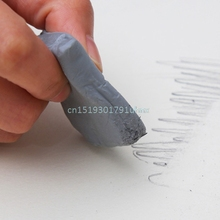 Strong Adhesive Kneadable Soft Rubber Eraser Dedicated Cleaning Pencil Sketch(China)