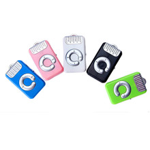 Mini Clip Sports Metal Mini USB Clip MP3 Player Portable mp3 Player free Music Download With TF Card Slot Electronic Products