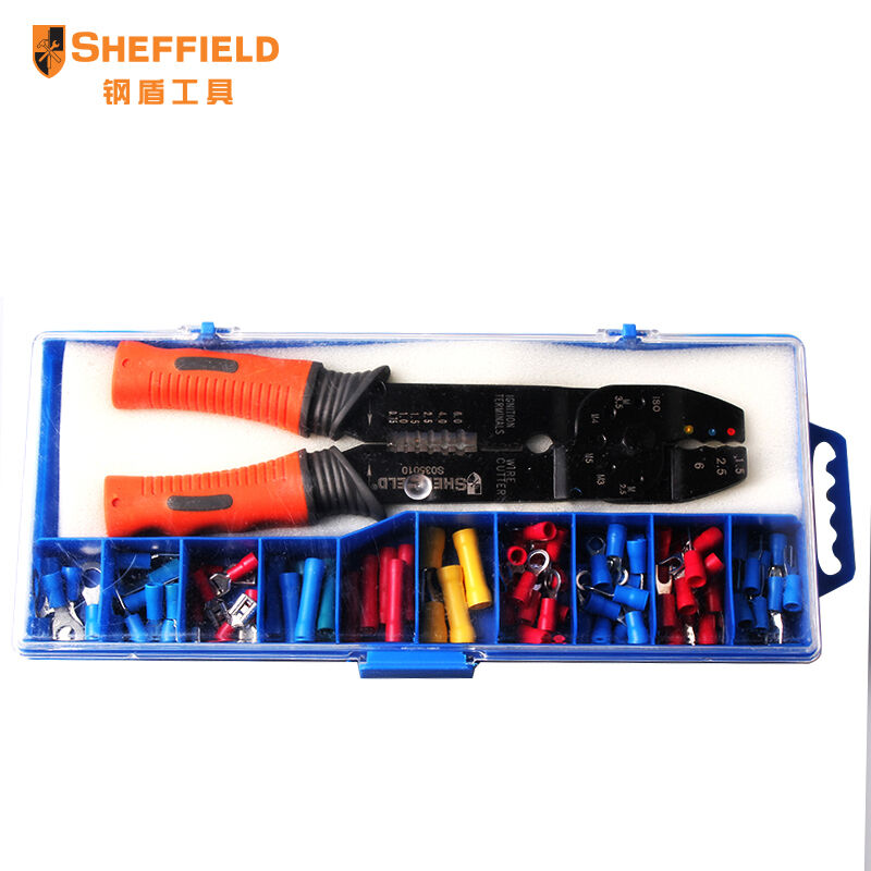 Купить ШЕФФИЛД 8 дюйм(ов) 5-в-1 Многофункциональный электрик плоскогубцы носа иглы, Для Зачистки проводов, резак, клещи для опрессовки дешево
