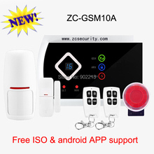Special sales promtion for Russia buyer 99 wireless & 2 wired zone home security alarm system android APP support free shipping(China)