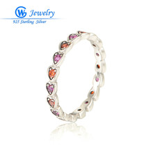 GW Fashion Jewellery Ring For Women Wedding Crystal Jewerly 925 Sterling Silver For Women RIPY035H20