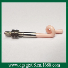 Textile 99#Ceramic wire guide parts    pigtail hook