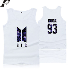 Buy LUCKYFRIDAYF 2018 BTS Kpop LOVE YOURSELF Tank Tops Men/Women Summer Sleeveless Workout Fit Tank Top streetwear Casual Print Vest for $6.90 in AliExpress store