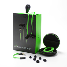 New Earphone For Razer Hammerhead V2 Pro With Microphone Retail Box Inear Gaming Headsets Noise Isolation Stereo Deep Bass