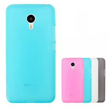 Ultra Thin Trendy Rubberized Hybrid TPU Soft Silicone Matte Skin Back Case Cover For Meizu MX5 XY1149(China)