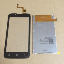 100% GOOD Working Black Touch Screen Digitizer + LCD Display Screen For Lenovo A328 A328T Cell Phone Sensor Replacement