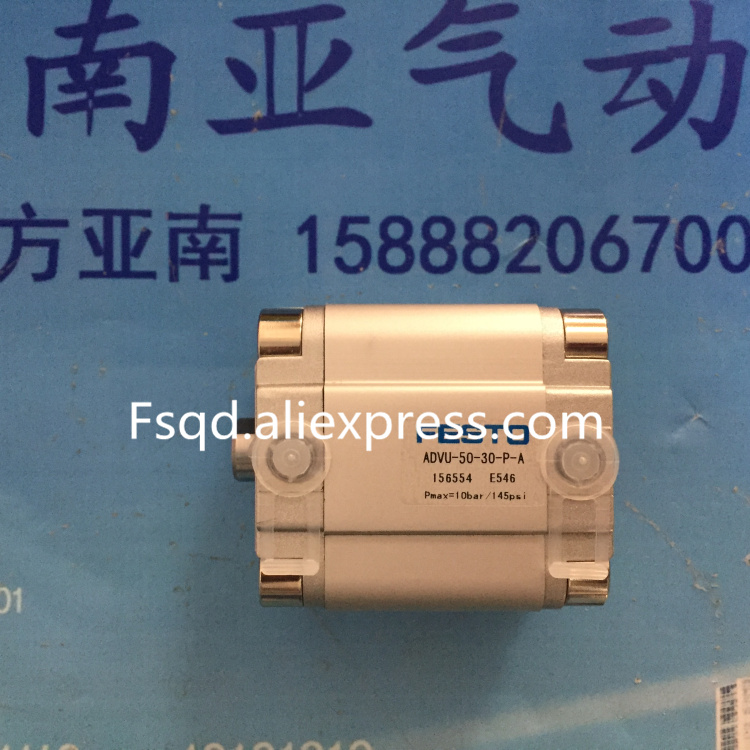 ADVU-50-20-P-A ADVU-50-25-P-A ADVU-50-30-P-A  FESTO Compact cylinders  pneumatic cylinder  ADVU series<br>