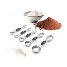 5pcs Stainless Steel Magnetic Double-head Measuring Spoon Set Tablespoons Teaspoons Baking Cooking Accessories Measuring Tools(China)