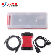 High Quality VCM2 Diagnostic Scanner For Ford VCM II IDS hot selling IDS VCM 2 OBD2 Scanner with plastic case by DHL free ship(China)