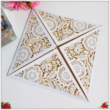 New 10pcs Laser Cut Wedding Invitations Card Elegant Greet Card Party Supplies Wedding Favors And Gifts 5zSH193(China)