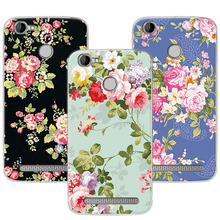Buy Luxury Floral Painted Case Homtom HT50 Case Cover Art printed Flower Homtom HT50 Soft TPU Fundas Capa 5.5 Inch for $1.21 in AliExpress store