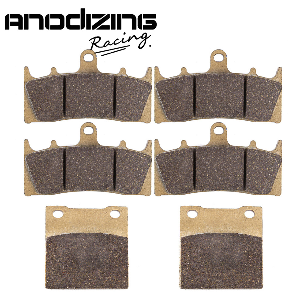 Motorcycle Front and Rear Brake Pads For SUZUKI GSXR-1300 GSX-R 1300 Hayabusa 1999-2007<br>