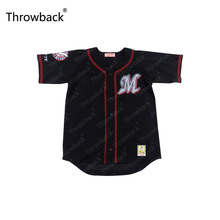 Chiba Lotte Marines Black Throwback Movie Baseball Jersey S-5XL Stitched(China)