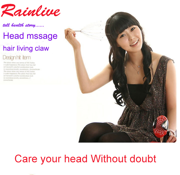 Head massager Scalp Massage claw Scratching device Mini Relaxed health product nice gift(China)