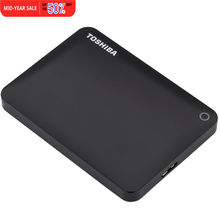 "Toshiba Canvio Connect II USB 3.0 2.5"" 1TB Portable External Hard Disk Drive Mobile HDD Desktop Laptop Encryption HDTC810YK3AA"