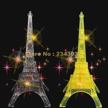 Intelligence/ Patience/ Observation Development Diy 3d Crystal Eiffel Tower Assemblage Puzzles Toys Decor