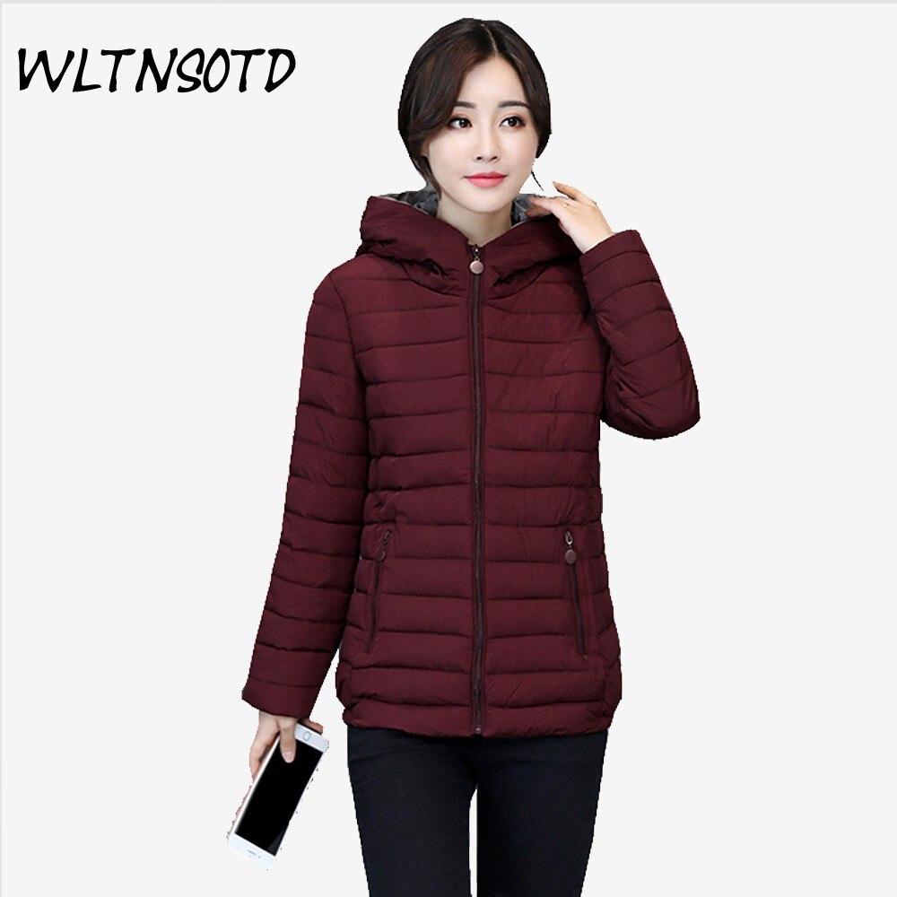 2017 new winter cotton coat women Slim short zipper warm thick jacket Female fashion Hooded Parkeas  Îäåæäà è àêñåññóàðû<br><br>