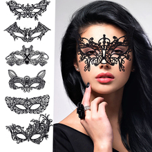 BESTOYARD Fashion Sexy Lace Eye Mask Venetian Masquerade Ball Party Fancy Dress Costume Lady Gifts Party Masks(China)