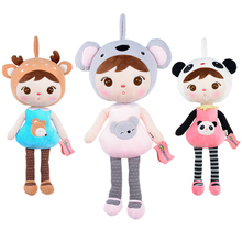50CM Metoo Angela Girl Plush Doll Toys Babies Soft Cartoon Stuffed Plush Toy Lovely Baby Sleep Doll For Kids Birthday/Xmas Gift(China)