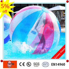 Dia 2m  good price and high quality party rental equipment inflatable toys water bounce walking zorb boller ball for sale