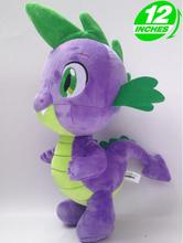 Free shipping  Toy Collection Friendship Is Magic little Cute Plush Ponies Spike toys for Christmas or birthday gift