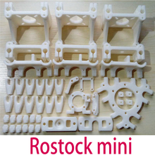 Reprap Delta Rostock Mini 3d printer accessories PLA plastic Parts Printed PLA plastic Fully Kit Free shipping(China)