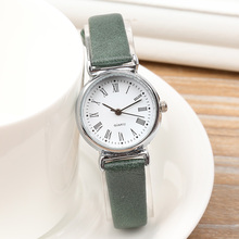 New Fashion Luxury Women Mini Watch Simple Personality Retro Art Lady's Roman Scales Leather Watch feminino reloj mujer(China)