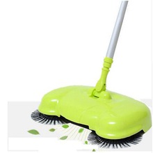 360 Degree Rotatable Cleaner Wireless Handheld Sweeper Broom Mops Hard Floors Dust litter Cleaning Tools(China)