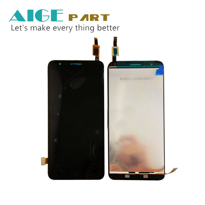 Black For Alcatel One Touch Pop4+ 5056a 5056 OT5056 OT-5056 LCD display + Touch screen digitizer Assembly<br><br>Aliexpress
