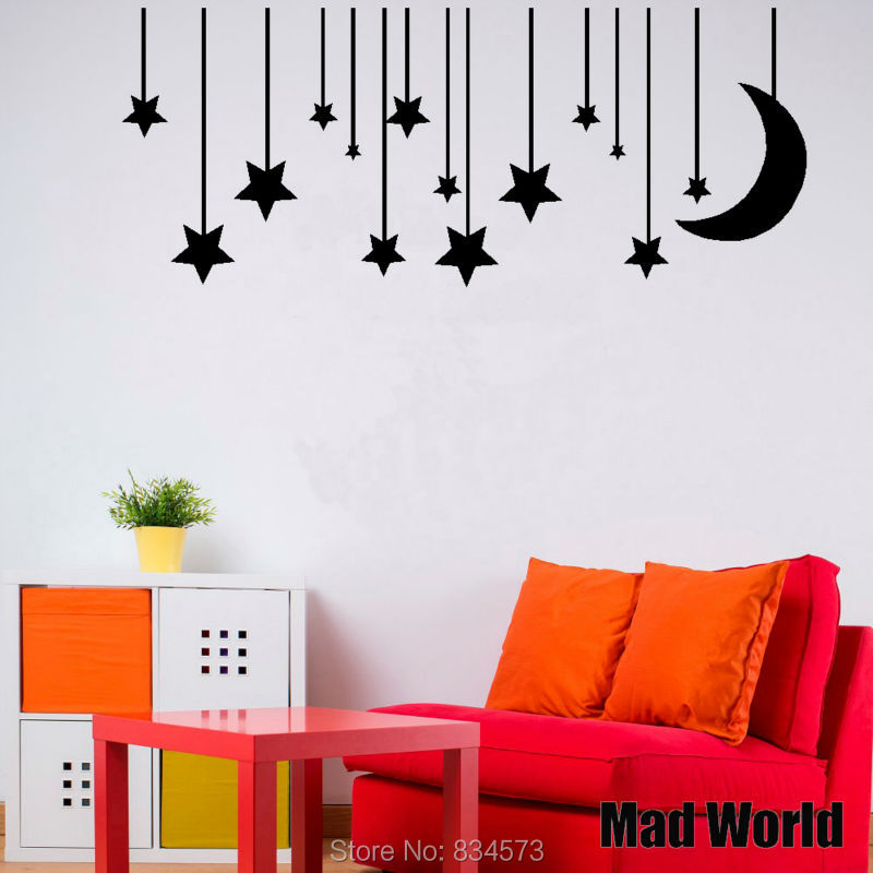 Kids Children Nursery Stars And Moon 57 140W