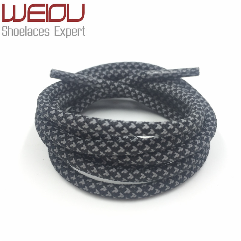Weiou 3M Round type Reflective Shoe Laces High Visibility Rope laces Shoestrings Safety Replacement shoelaces for Men Women Kids<br><br>Aliexpress