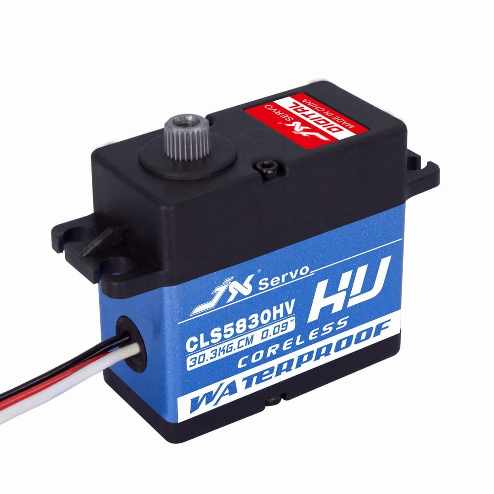 Superior Hobby JX CLS5830HV 3020KG Full waterproof HV coreless high quality servo<br>