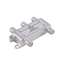 4 Way Satellite/Antenna/Cable TV Splitter Distributor 5-2400MHz F Type Wholesale Drop Shipping